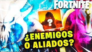 NEW ENEMY IN FORTNITE *SECRETOS AND THEORIES* FROM RAGNAROK AND TRAVEL DRIFT BY ROAD