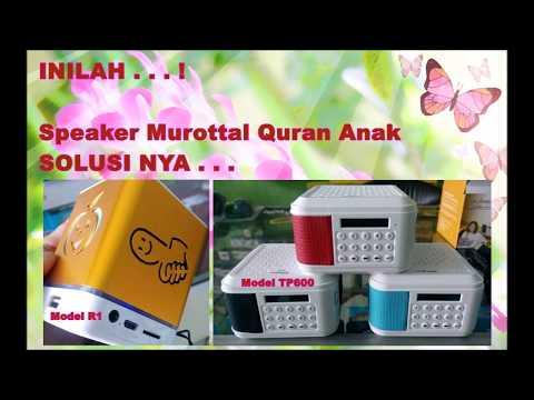 Harga Speaker Murotal Quran 30 Juz Lengkap Terjemahannya 08115011492
