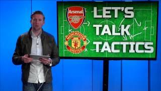 Arsenal vs. Man United ROONEY GOAL SECURES WIN