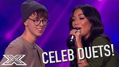 CELEBRITY DUETS With X Factor Contestants from Around The World | X Factor Global