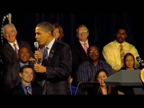 President Barack Obama at Lehigh Carbon Community College