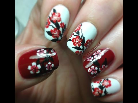 Floral Nal Art Design