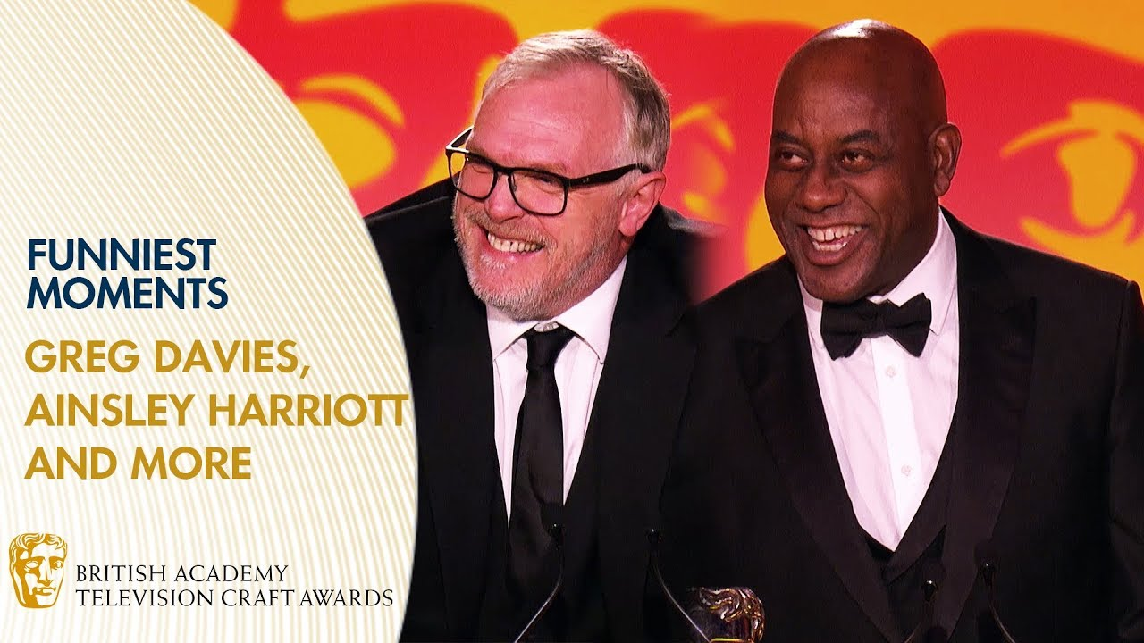 Download Funniest Moments with Greg Davies, Stephen Mangan and More   BAFTA TV Craft Awards 2019