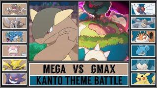 Potential Pokémon Battle: MEGA vs GMAX