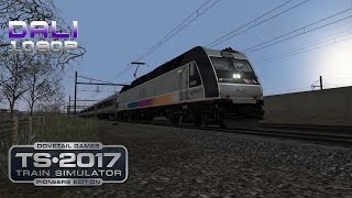 Train Simulator 2017: Pioneers Edition North Jersey Coast Line PC Gameplay 1080p 60fps