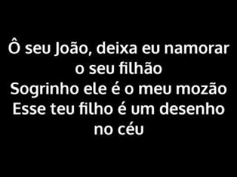 Letra da música seu João