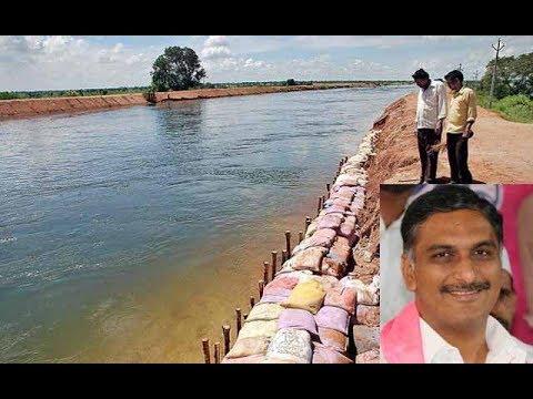 Harish Rao releases water to left canal from Nagarjuna Sagar LIVE