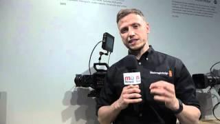 2016 NAB Show: Stuart Ashton, Director EMEA at Blackmagic Design