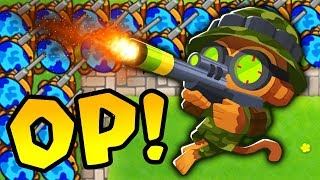 Bloons TD Battles | Sniper Monkey ONLY Challenge!