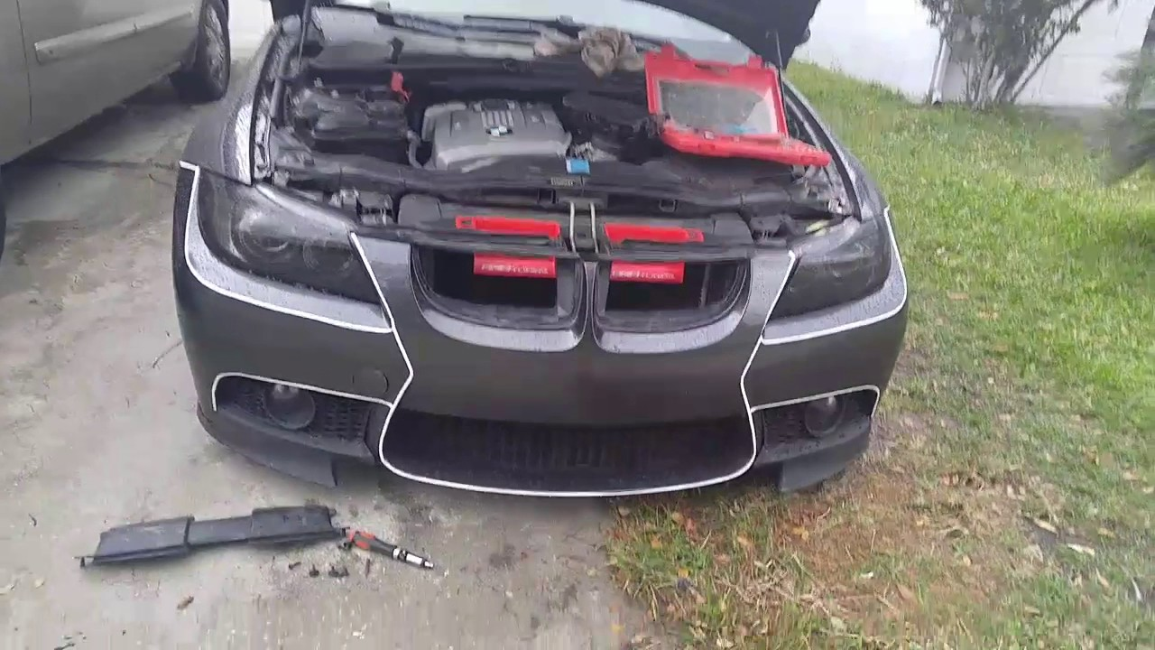 air intake scoops bmw e90 afe ecs tuning youtube. Black Bedroom Furniture Sets. Home Design Ideas