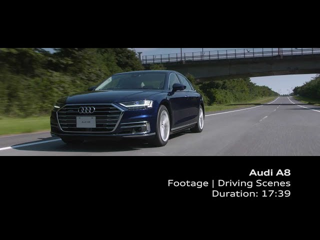Audi A8 Footage_Driving Senses