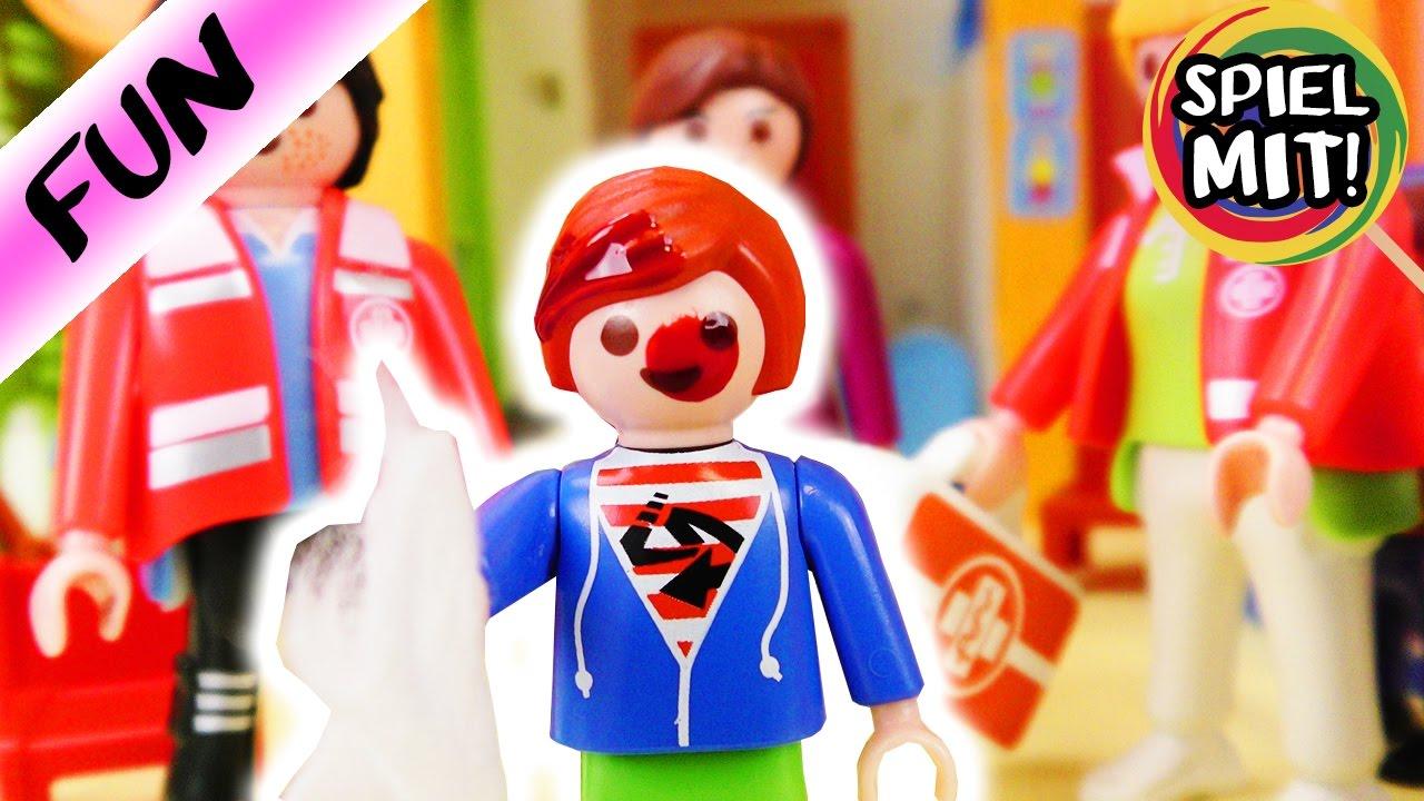 playmobil film deutsch unfall in der kita julian blutet spiel mit mir kinderspielzeug youtube. Black Bedroom Furniture Sets. Home Design Ideas
