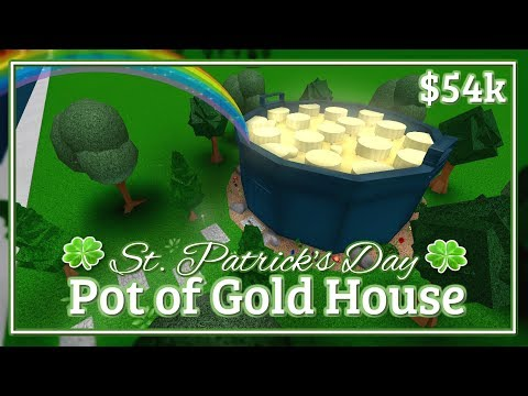 Bloxburg - Pot of Gold House Speed-build