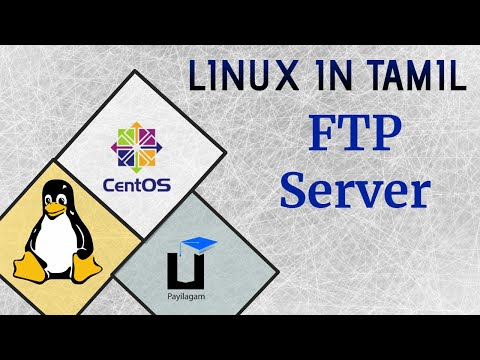 FTP server Tutorial in Tamil - Linux in Tamil - Payilagam