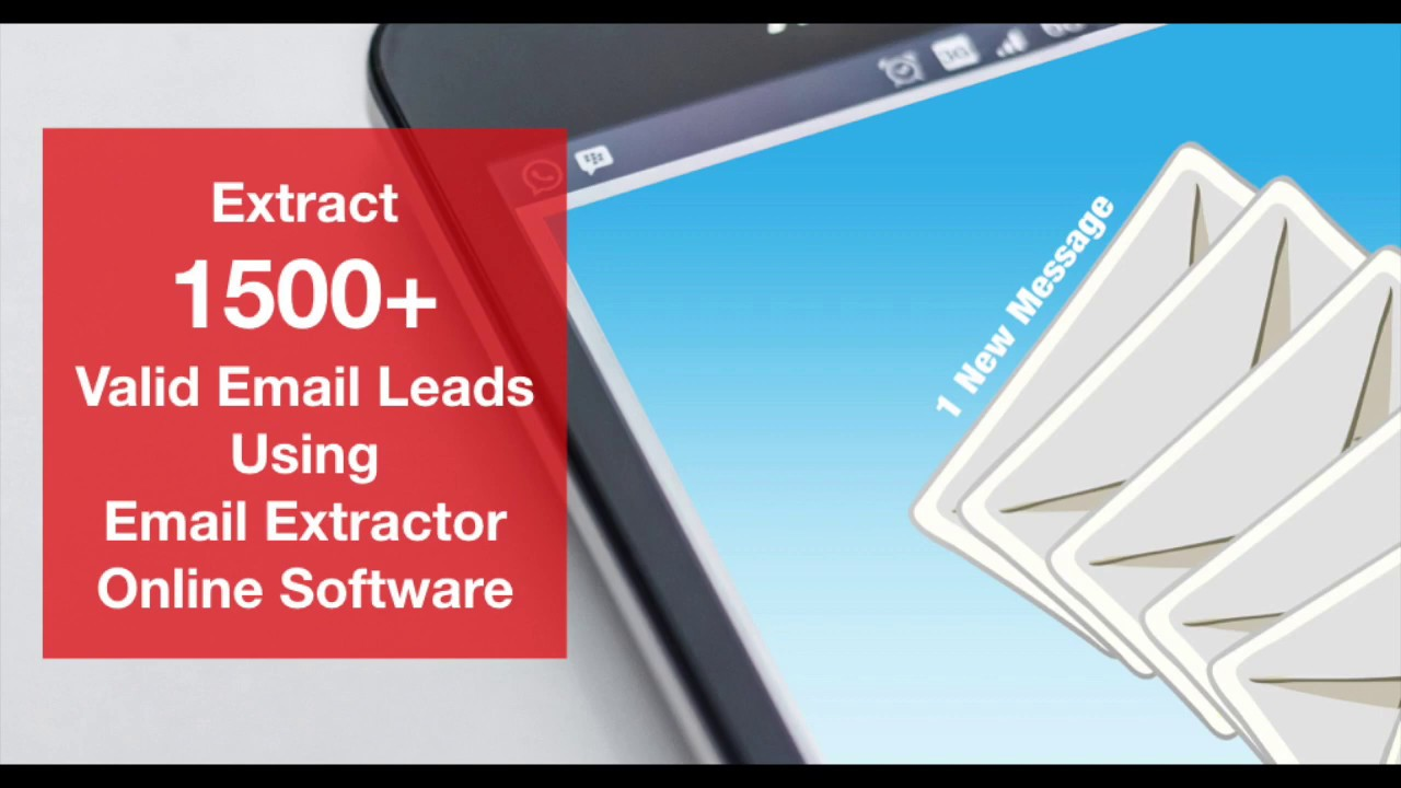 Email Extractor Online - B2B Lead Generation Software