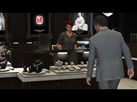 gta 5 histoire casse de la bijouterie youtube. Black Bedroom Furniture Sets. Home Design Ideas