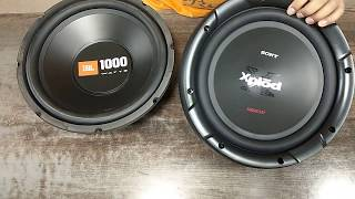JBL and SONY unboxing JBL1000 watss