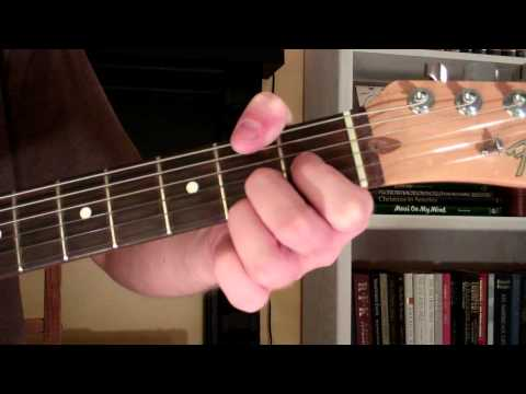 How To Play the E13 Chord On Guitar (E thirteenth) 13th