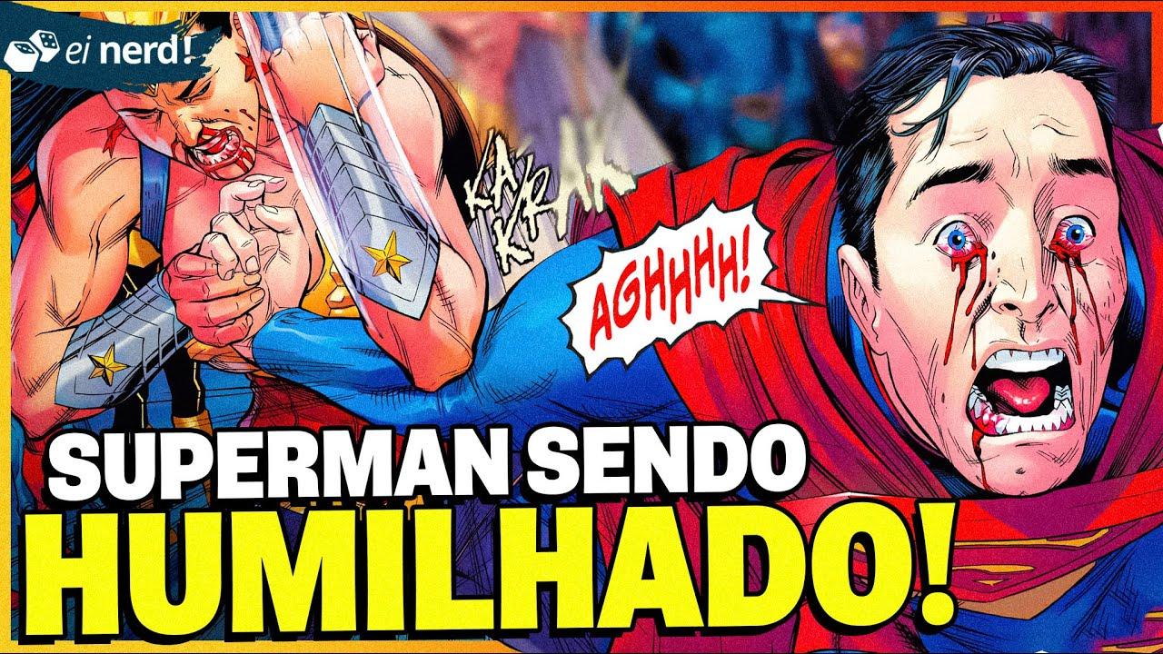 PERSONAGENS QUE O SUPERMAN NUNCA CONSEGUIU VENCER NA PORRADA