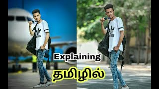 How to edit 3d photo in PicsArt|| explaining Tamil