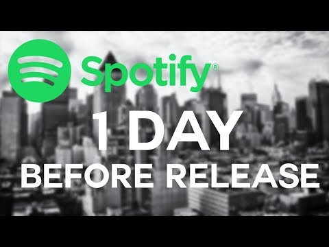 How to listen to any spotify album one day before the official release