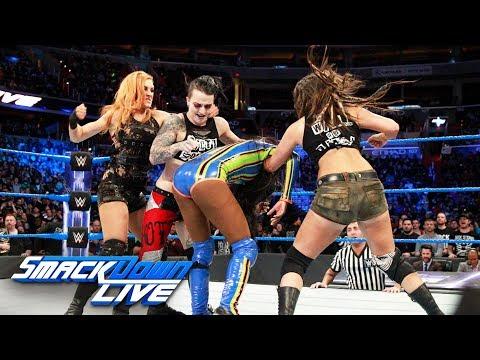 Naomi vs. Liv Morgan: SmackDown LIVE, Jan. 23, 2018 thumbnail