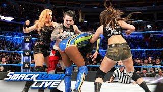 Naomi vs. Liv Morgan: SmackDown LIVE, Jan. 23, 2018
