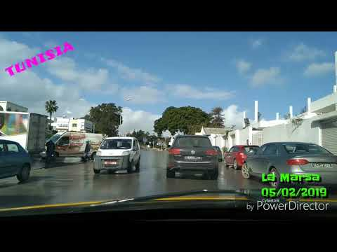 جولة في العاصمة تونس مدينة المرسى 3 / tunis la marsa