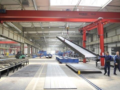 Завод металлоконструкций / Производство металлоконструкций