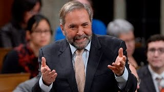Mulcair uses humour to question Trudeau's attendance record