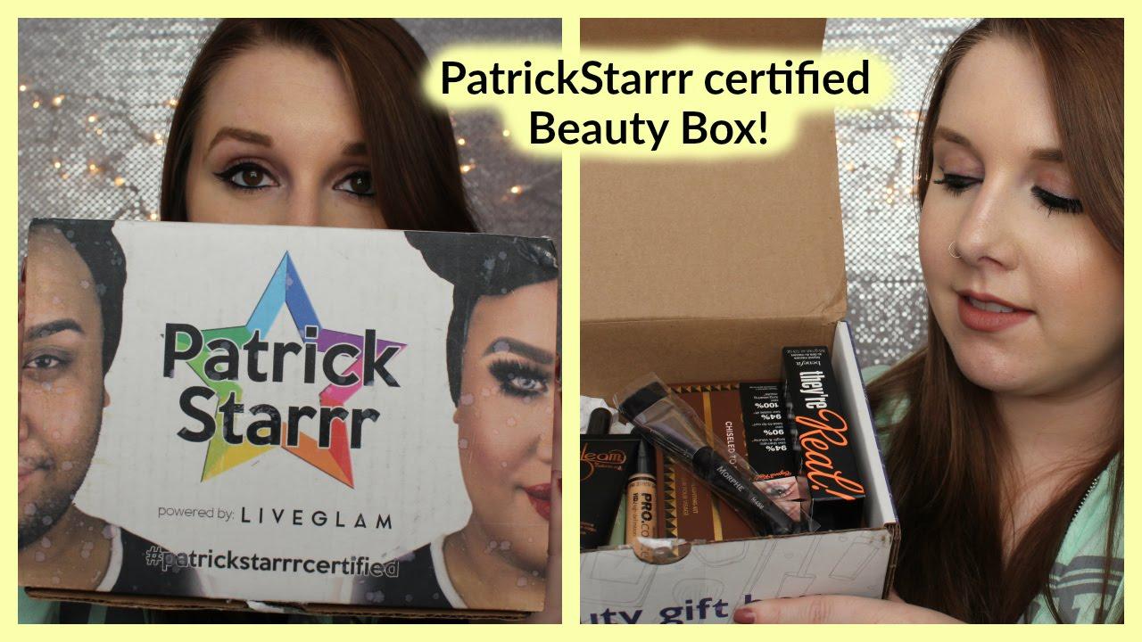 Patrickstarrr certified beauty box youtube xflitez Image collections