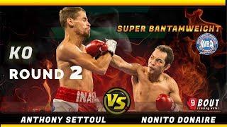 KO Rd2! Nonito Donaire vs Anthony Settoul | Filipino Flash