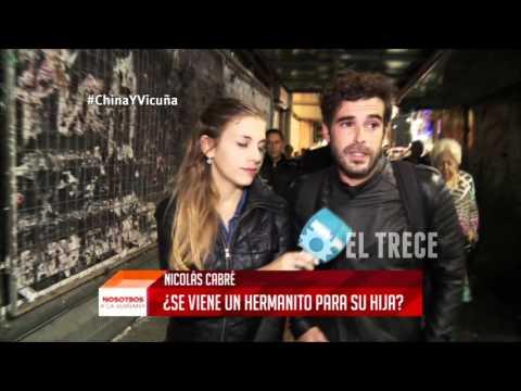Nicolás Cabré habló sobre Vicuña y La China Suárez
