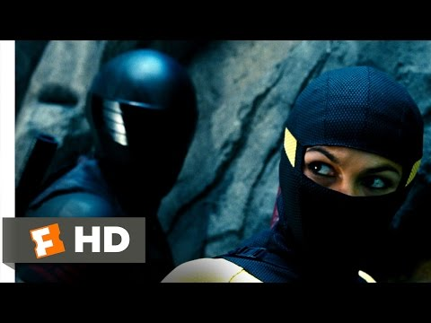 G.I. Joe: Retaliation (5/10) Movie CLIP - Cliffside Ninja Battle (2013) HD