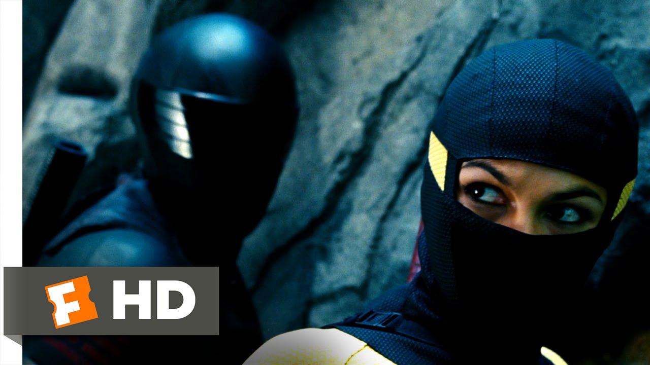 G I  Joe: Retaliation (5/10) Movie CLIP - Cliffside Ninja Battle (2013) HD