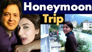 Ayesha Khan Honey Moon Trip Pics- #Ayesha Khan And Major #Uqbah Wedding/Marriage   | Duniya Tv