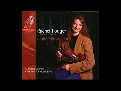 Rachel Podger ~ BACH: Violin Partita No. 1 in B moll, BWV 1002