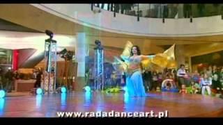 Radosława RADA Bogusławska bellydance isis wings RADA DANCE ART