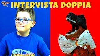 INTERVISTA DOPPIA LEONARDO vs DINOSAURO - Leonardo D