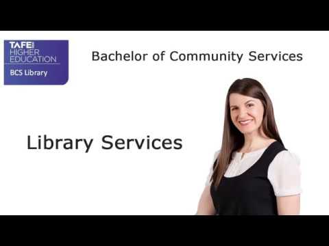 Library services webpage