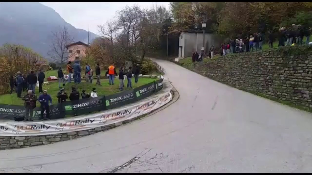 Rally dell Ossola 2018 ps 1 Fomarco