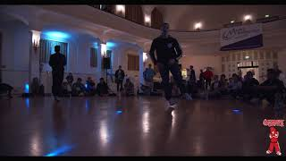 Halbfinale Breaking Bboy Adults Tapio vs Romeo