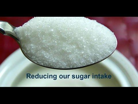 Reducing our sugar intake