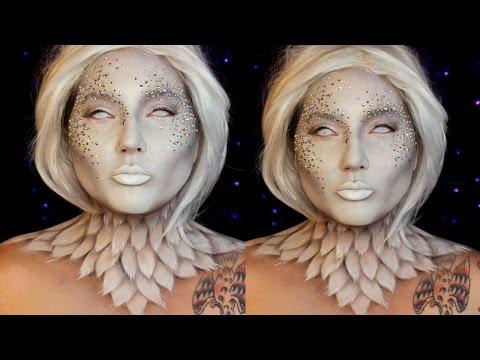 Heaven and Hell Angel Halloween Makeup Tutorial | Jordan Hanz / Kristen Leanne