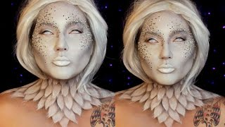 Heaven and Hell Angel Halloween Makeup Tutorial   Jordan Hanz / Kristen Leanne