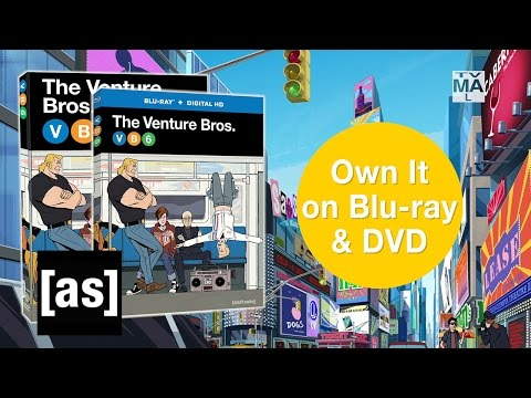 Own The Venture Bros. Season 6 on Blu-ray and DVD Today! | Adult Swim