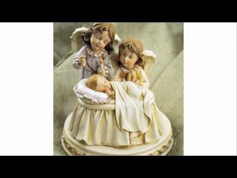 Baby with Angels Lullaby Figure – Joseph's Studio | The Catholic Company