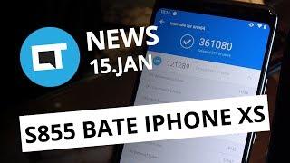 Snapdragon 855 bate iPhone XS no AnTuTu; WhatsApp apaga mensagens e + [CT News]