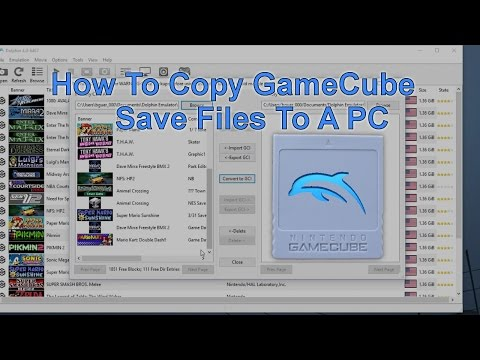 How To Copy Gamecube Save Files To Computer