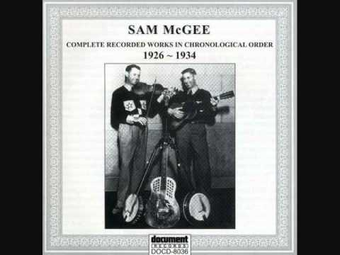 Sam Mcgee-Knoxville Blues
